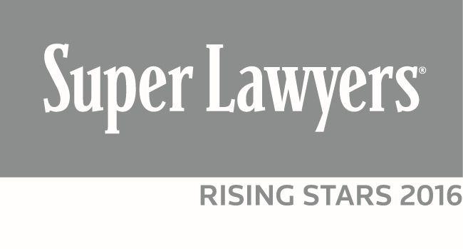 Super Lawyers 2016 California Rising Stars Logo
